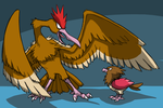 The Spearow Family by Zerochan923600