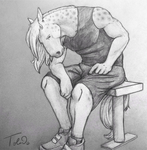 Chastened (FBA Fanart) by Toledo-the-Horse