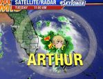 Tropical Storm Arthur by iamnotepic123