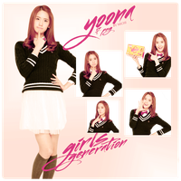 Pack PNG  YoonA(Girls Generation) by michiru92