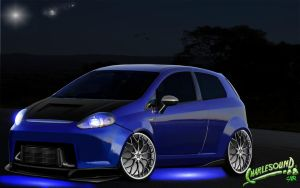 Fiat Punto 2010 Virtual Tuning by CHARLESOUNDcar