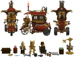 LEGO Steamcar v:1.0 001 by Steam-HeART