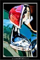 49 Cadillac Tail Light Gas Cap by mahu54