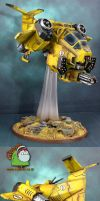 Imperial Fists Stormtalon by HomeOfCadaver
