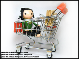 Prison Loki Goes Shopping by GrandmaThunderpants