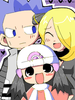 Cynthia+Cyrus+ Dawn by ranran333