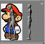 Costume Design concept 2012 Paper Mario by ChozoBoy