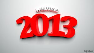 Welcome 2013 by tojoshan