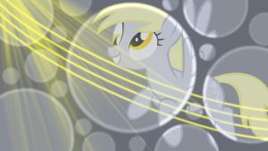 Derpy Bubbles Wallpaper by Glitcher007
