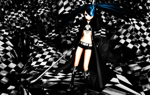 Black Rock Shooter by S2KawaiiNekoS2