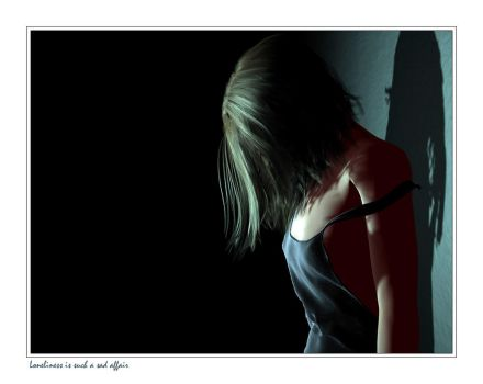 Loneliness is a sad affair by RGUS