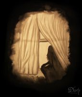 Another Face In A Window I. by FaiblesseDesSens