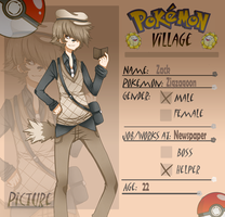 Poke-Village: Zack by Thami-Mixim