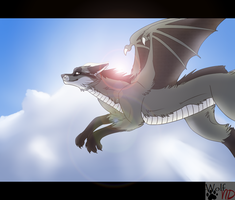 Fliyin Higher then the sun by Wolfvids