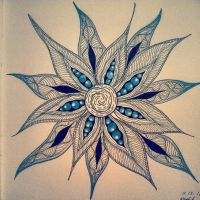 My Zendoodle 365-project, day 70 by Nadik