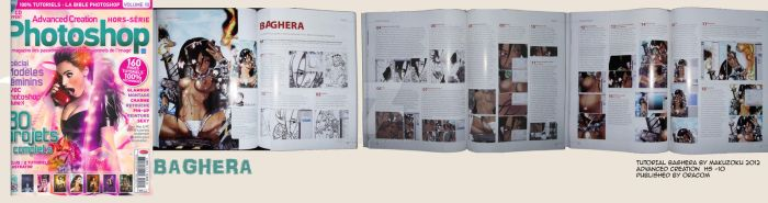 Baghera in Advanced Creation Magasine by MaKuZoKu