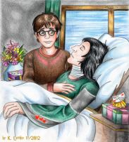 Get well soon, Professor Snape by PotionsTeddy