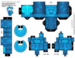 Tron Original cubeecraft-XL p1 by randyfivesix
