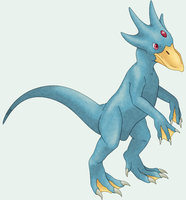 Golduck by RacieB