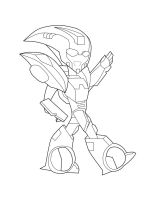 WIP: Blurr Chibi -lined- by AnimePeep33