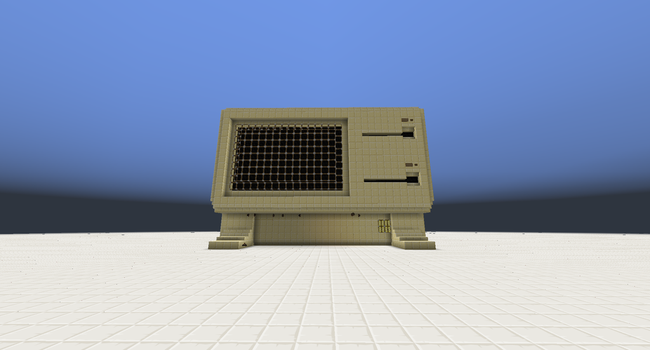 Minecraft - Apple Lisa #2 by Odd-Della-60