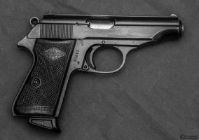 West German Police Issued Walther PP 32 *Reverse* by spaxspore