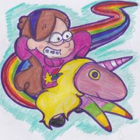 Mabel's Rainicorn by ImmaRainbowNinja