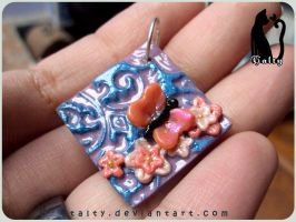 Butterfly Pendant by Talty