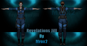 REVELATIONS JILL WIP by Therealmrox2