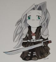 Sephiroth by LadySoliloque