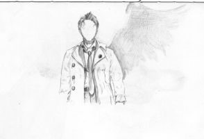 Castiel mostly by FireDestined4