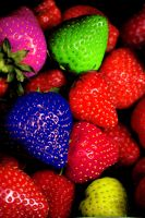 strawberries by rudiui