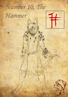 Black Zodiac: The Hammer by TheGoldenCrowbar