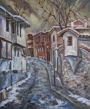 The Old Plovdiv - Winter Day by raysheaf