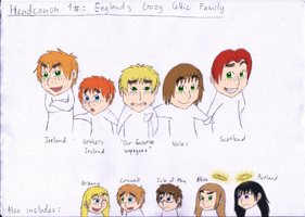 Headcanon 1: England's Crazy Celtic Family by Kimanda
