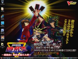 YuGiOh 10th Awesome Desktop by PharaohAtisLioness