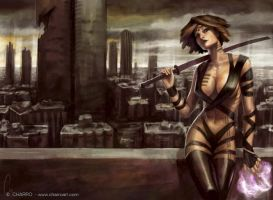 Urban Amazon by charro-art