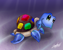 Spectrum The Turtle by Cryssy-miu