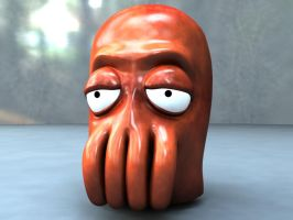 3D - Dr. Zoidberg WIP by nickeatworld