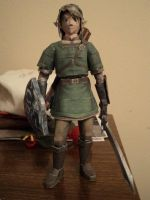 Twilight Princess Link Papercraft by LegendofFullmetal