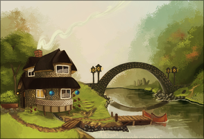 Cottage by draiad