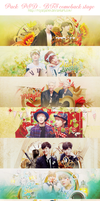 [PACK PSD] Happy BTS's comeback stage by RoyalPalien