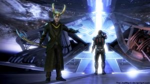 Mass Effect - Loki Ending by The-JoeBlack