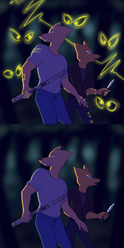 NitW: Wolf Bite by thesuckerpunched