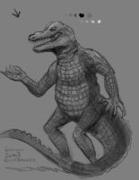 Gator-doodle-10-15 by maugryph