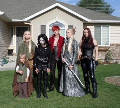 Group cosplay by my-savage-garden