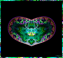 Psychedelic Heart by PsySun