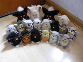 Furby slumberparty by SianaLee