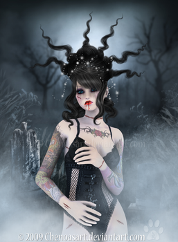 Living Dead Doll by chenoasart