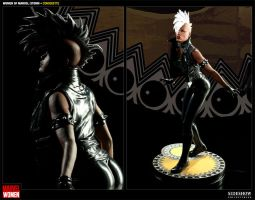 Sideshow Women of Marvel Storm by BLACKPLAGUE1348